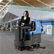 R125BT70 Auto Ride On Floor Scrubber