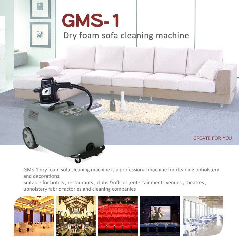 GMS 1 Dry Foam Sofa Cleaning Machine