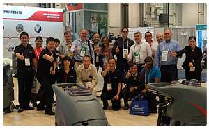 Gao Mei attended the Las Vegas International Cleaning and Maintenance Exhibition (2015 exhibition photo gallery)